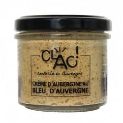 CREME D'AUBERGINE AU BLEU...