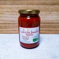 Coulis de tomates basilic BIO