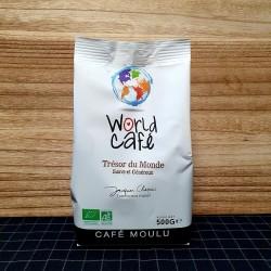 Café TRESOR DU MONDE MOULU BIO