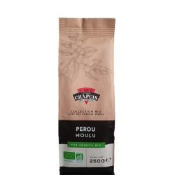 Café PEROU MOULU BIO