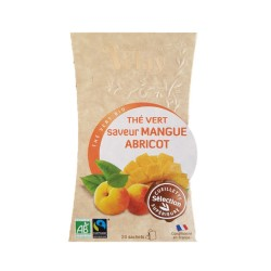 Thé vert Mangue Abricot