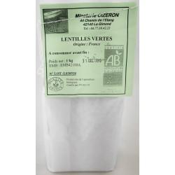 Lentilles BIO 1Kg